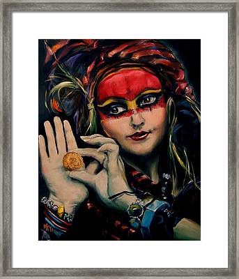 Princess Of The Thieves Framed Print