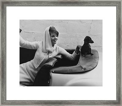 Princess Veriand Windisch-graetz Framed Print by Horst P. Horst