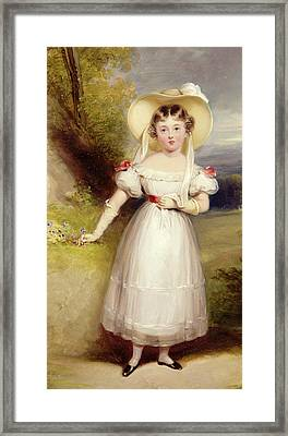 Princess Victoria Framed Print
