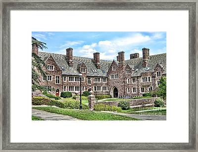 Princeton University Dormitory  Framed Print by Olivier Le Queinec