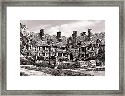 Princeton University Framed Print by Olivier Le Queinec