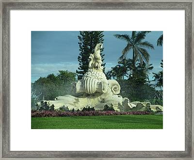 Framed Print featuring the photograph Princeville II by Alohi Fujimoto