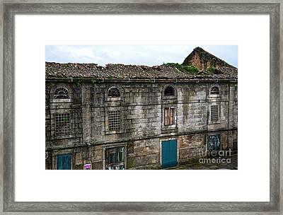 Principal Theatre In Ruins Framed Print
