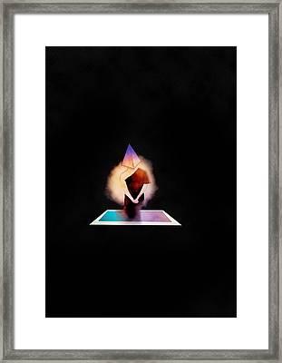 Wisdom Of Life Framed Print by Aegapan Tanagarnpanich