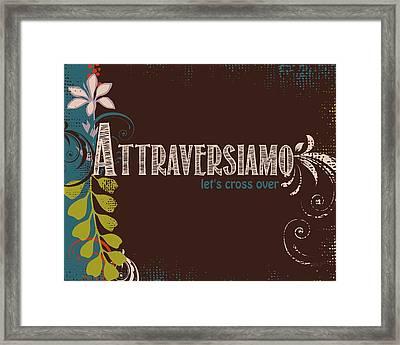 Print Framed Print by Cindy Greenbean