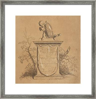 Print Work, Cornelis Ploos Van Amstel, Jonas Witsen Framed Print