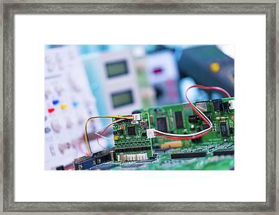 Printed Circuit Board Framed Print