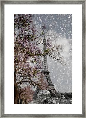 Printemps Parisienne Framed Print