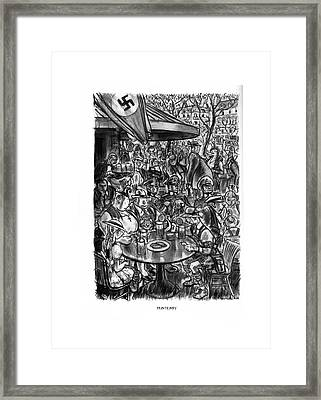 Printemps Framed Print by Wallace Morgan