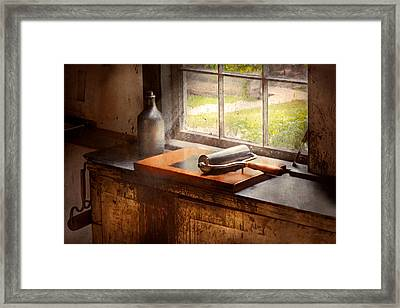 Printer - A Hope And A Brayer Framed Print by Mike Savad