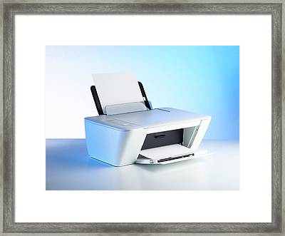 Printer Framed Print