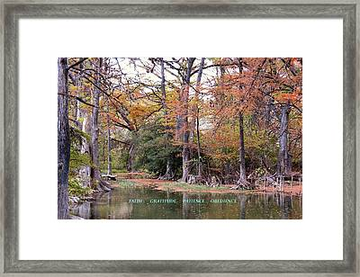Priorities Framed Print by David  Norman