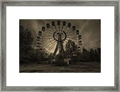 Pripyat Ferris Wheel Framed Print