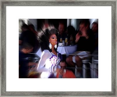 Priscilla Queen Of Miami  Framed Print
