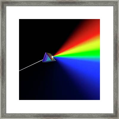 Prism Abstract Framed Print by David Parker
