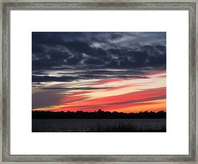 Framed Print featuring the photograph Prism At Sunset by Joetta Beauford