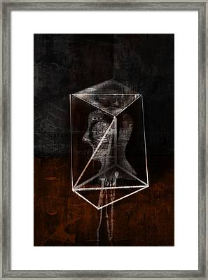Prism Framed Print by Kim Gauge