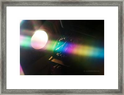 Prism Of Light Framed Print