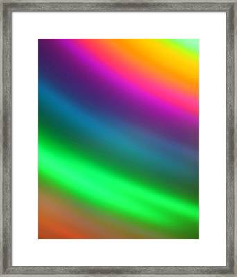 Prismatic Framed Print