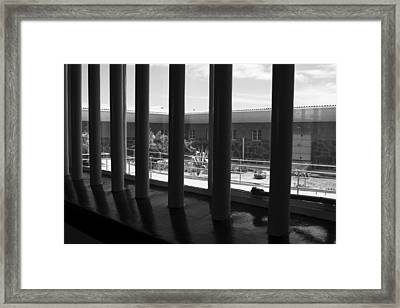 Prison Cell View Framed Print by Aidan Moran