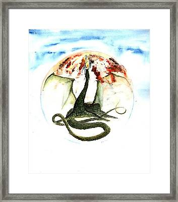 Prisonier Framed Print by Marc Philippe Joly