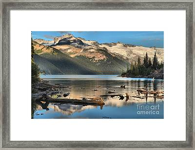 Pristine Canadian Coast Lake Framed Print by Adam Jewell