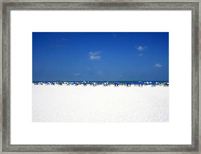 Pristine Clearwater Framed Print