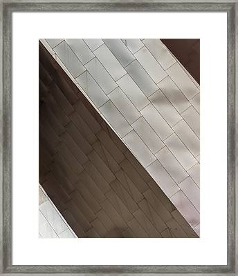 Framed Print featuring the photograph Pritzker Pavilion Detail by James Howe