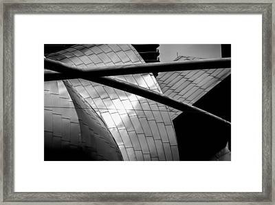 Framed Print featuring the photograph Pritzker Pavilion by James Howe