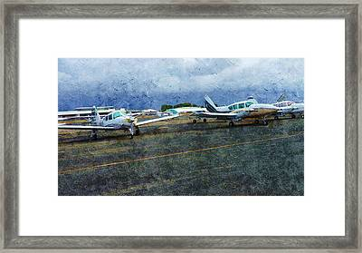 Private Airport Framed Print