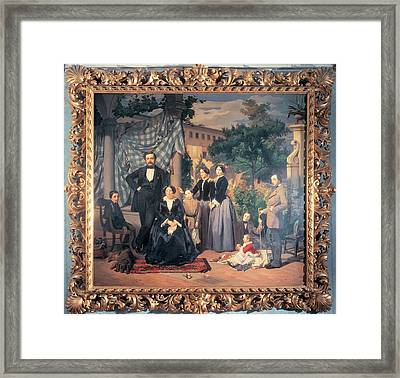Private Collection. All. Frame Portrait Framed Print