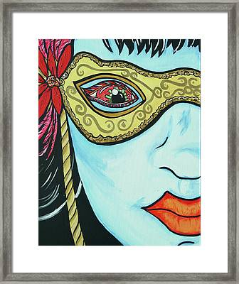 Private Eye Framed Print by Lorinda Fore