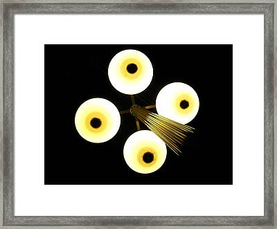Private Eyes Framed Print by Kennith Mccoy
