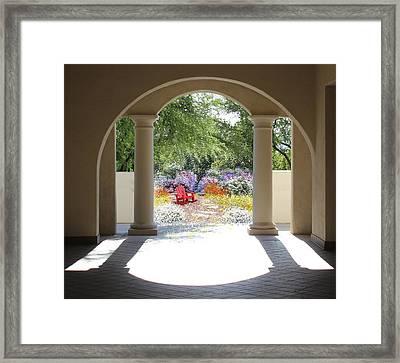 Private Garden Framed Print by Kume Bryant