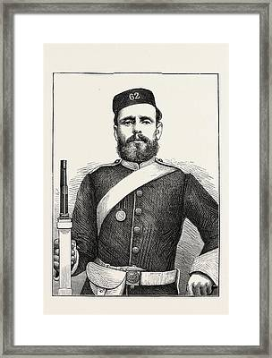 Private George Bryant, Champion Shot Of The British Army Framed Print