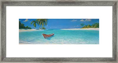 Private Landing Framed Print
