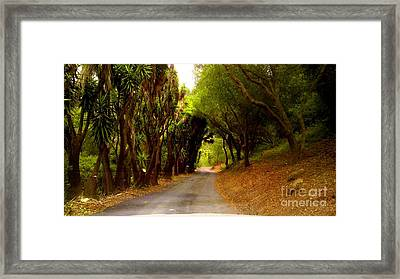 Private Property Framed Print by Sharon Costa