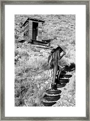 Private Stairs Framed Print by Adam Chilson