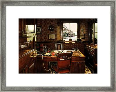 Private Framed Print by Svetlana Sewell