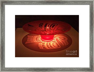 Prize Winning Glass Design Framed Print by Frances  Dillon