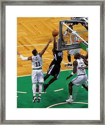 Pro Hoops 002 Framed Print by Jeff Stallard
