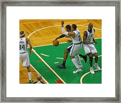 Pro Hoops 003 Framed Print