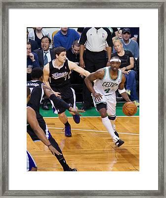 Pro Hoops 016 Framed Print by Jeff Stallard