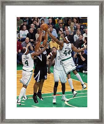 Pro Hoops 022 Framed Print by Jeff Stallard