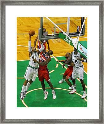 Pro Hoops 032 Framed Print by Jeff Stallard