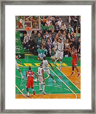Pro Hoops 035 Framed Print by Jeff Stallard