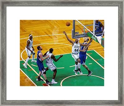 Pro Hoops 036 Framed Print by Jeff Stallard