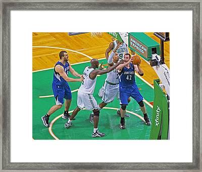 Pro Hoops 037 Framed Print by Jeff Stallard