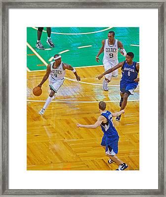 Pro Hoops 040 Framed Print by Jeff Stallard