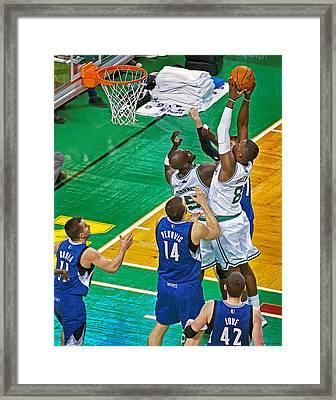 Pro Hoops 044 Framed Print by Jeff Stallard